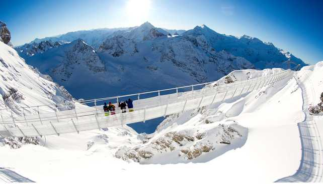 Titlis Suspension Bridge