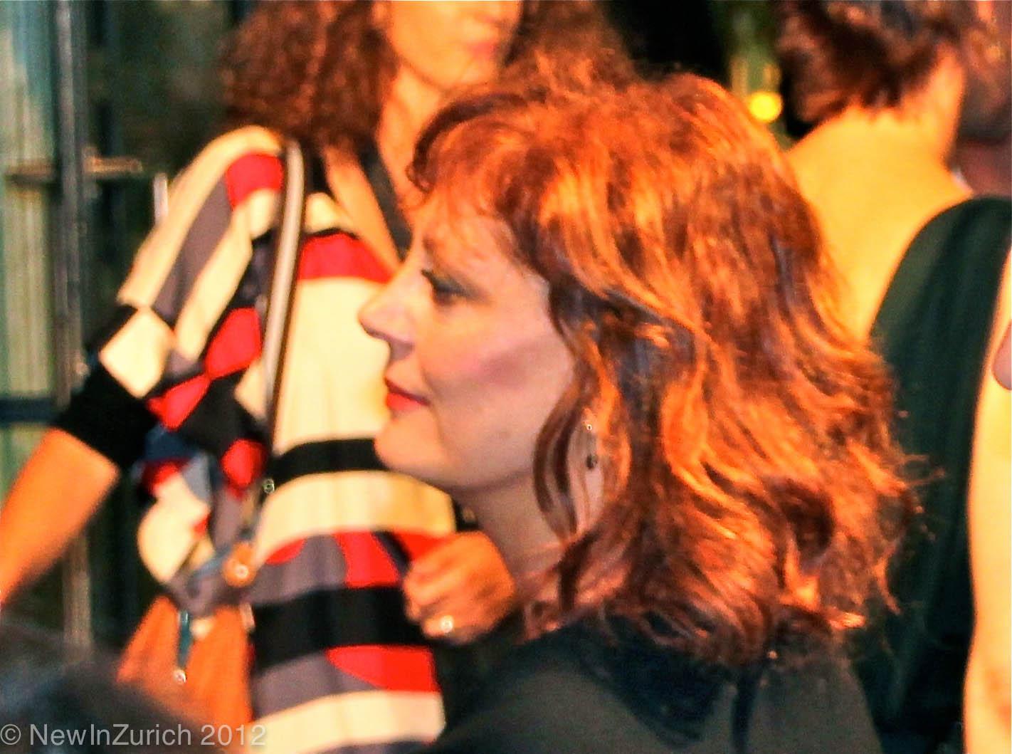 Susan Sarandon, Zurich Film Festival 2012 © NewInZurich