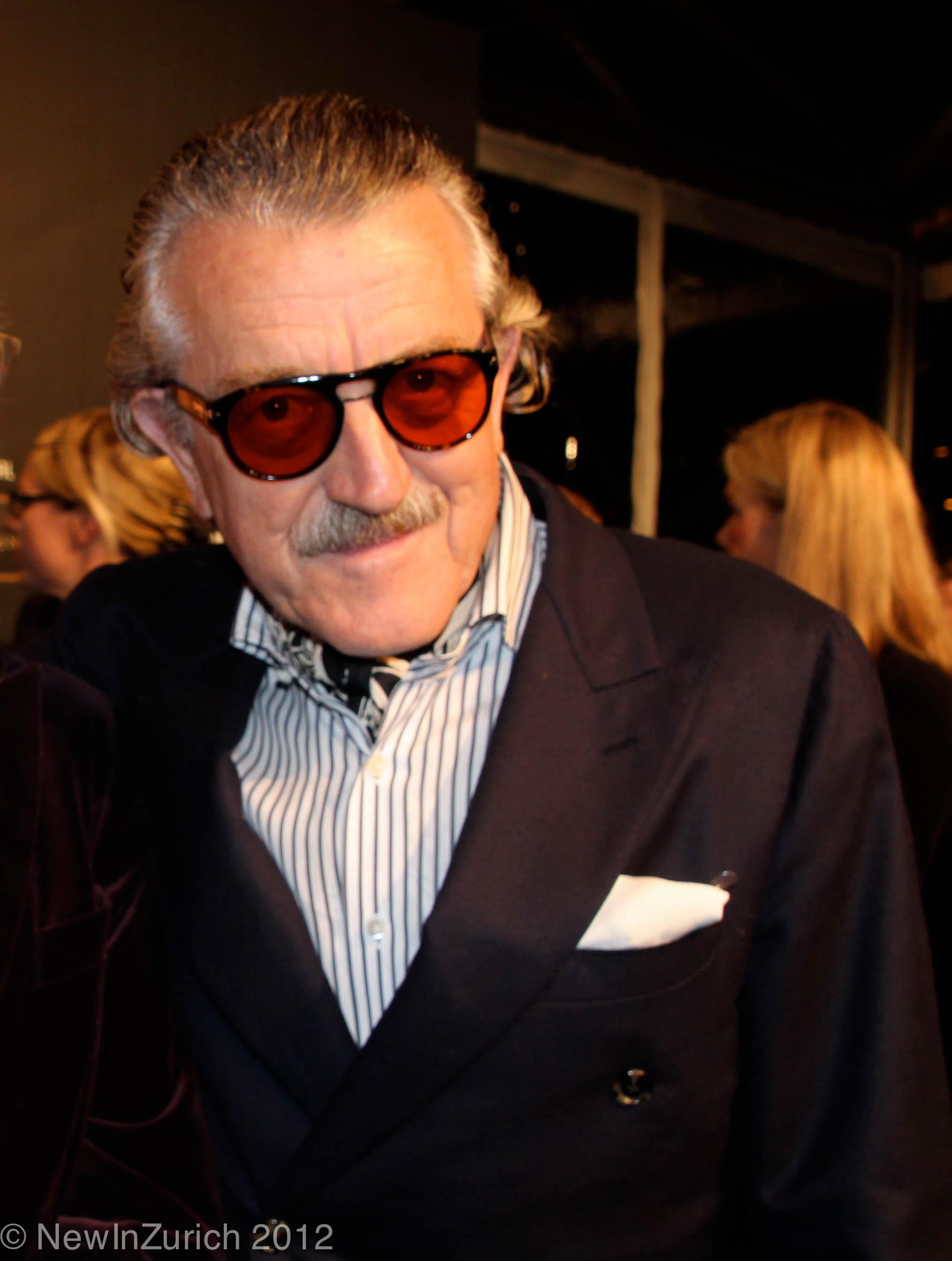 Zurich film festival awards 2012 tom tykwer heather for Dieter meier