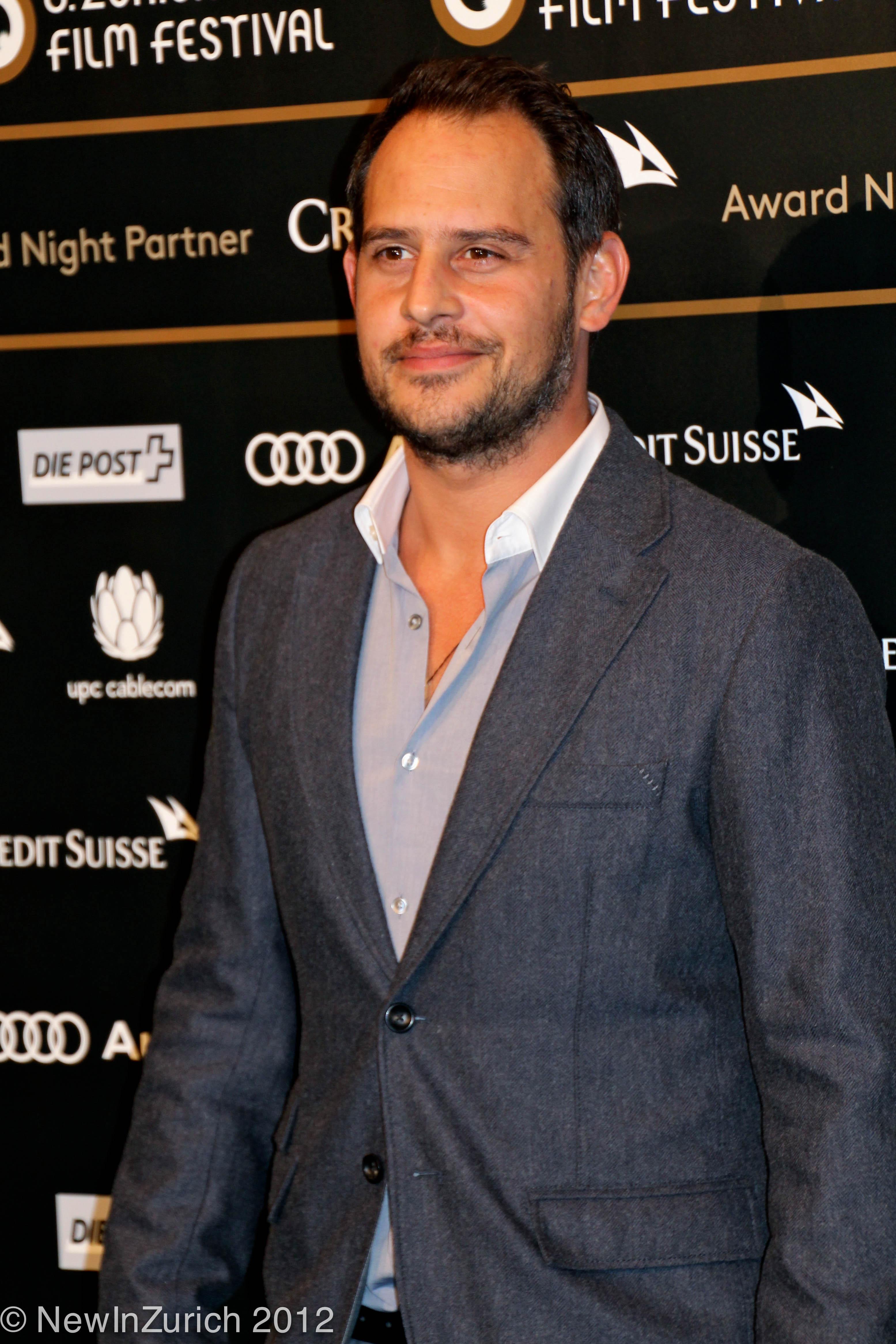 Moritz Bleibtreu, Zurich Film Festival 2012 © NewInZurich