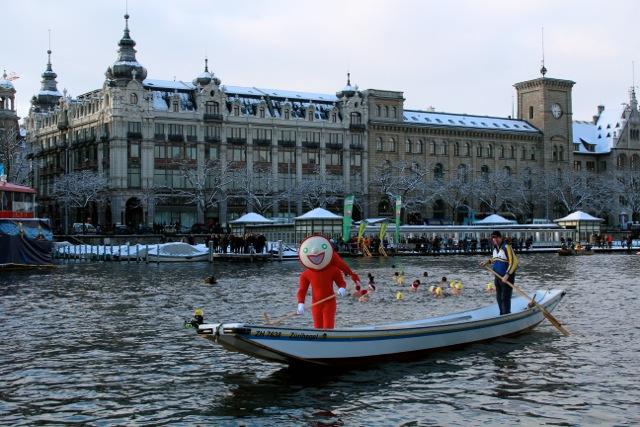 Samichlaus Schwimmen Zurich