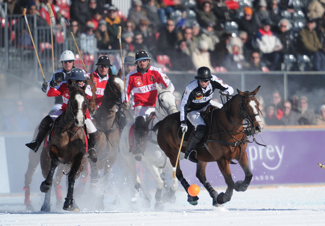 St Moritz Polo World Class on Snow