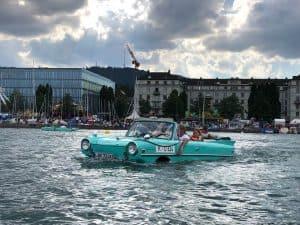 Amphibious vehicles - Photos of Züri Fäscht 2019 Zurich Switzerland