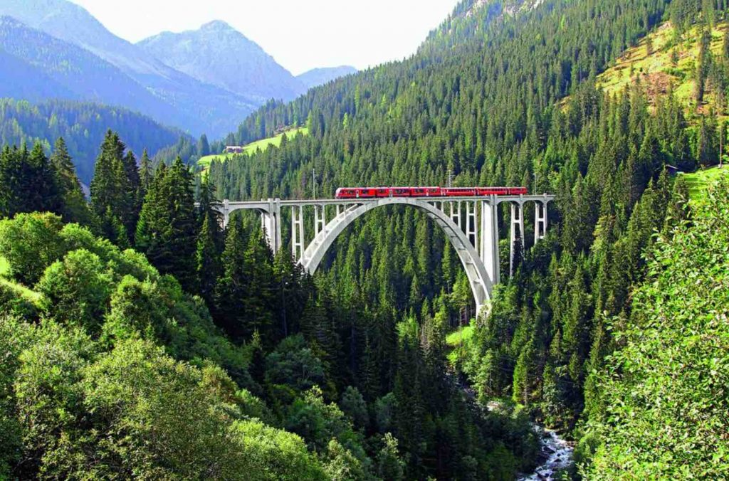 Rhaetian Railways & Bernina Express