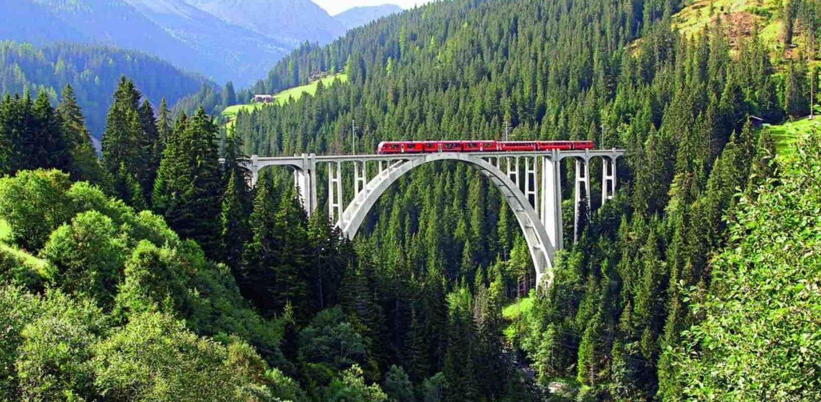 Rhaetian Railways & Bernina Express
