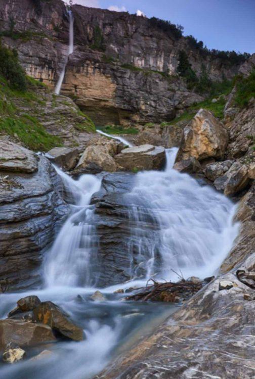 Waterfall near Villars