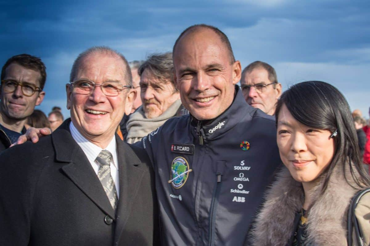 Solar Impulse 2 Back in Switzerland After Record Flight