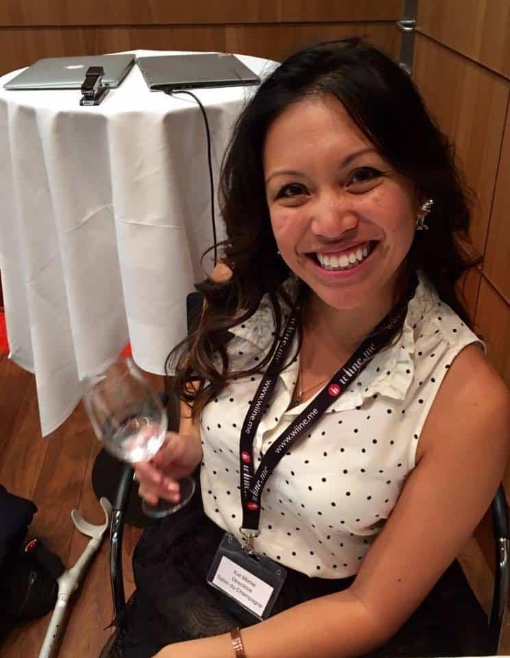 Kat Morse Salon du Champagne