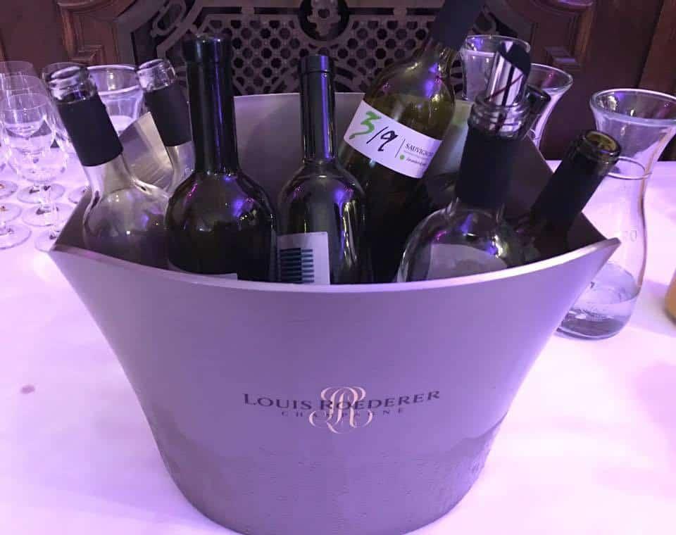 Wine tasting at Schloss Sihlberg for Mercure Hotels