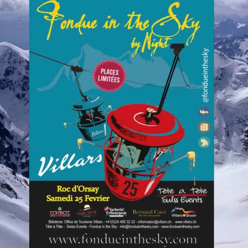 A Unique Swiss Experience - Fondue in the Sky