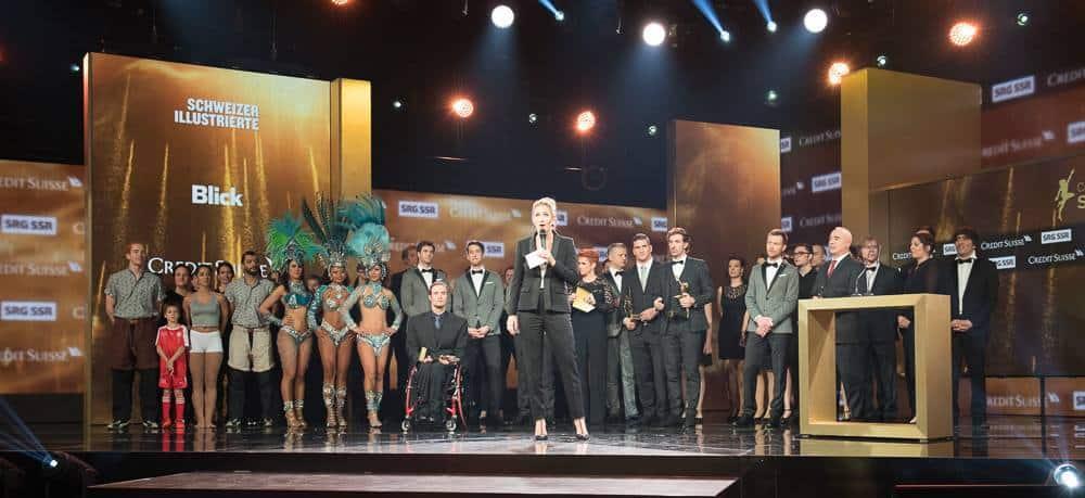 Credit Suisse Sports Awards 2016 Geoff Pegler