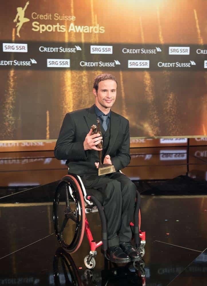 Marcel Hug Behindertensportler des Jahres