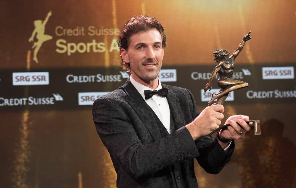 Fabian Cancellara Credit Suisse Sports Awards 2016