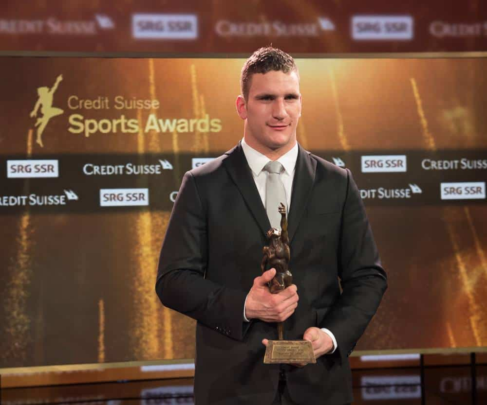 Armon Olik Schwingen Credit suisse sports awards