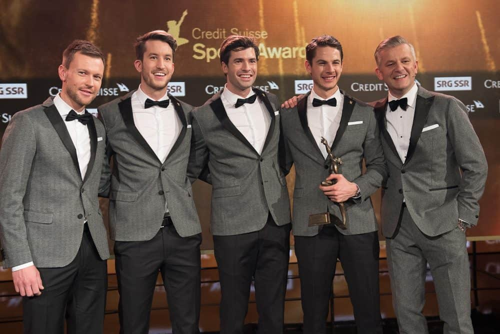 Credit Suisse Sports Team of the year 2016