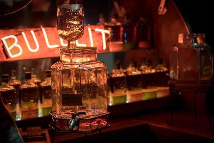 Tasting Bulleit Bourbon Whiskey at Man's World 2017