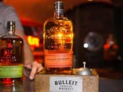 Biting the Bulleit with Bourbon Whiskey at Man's World 2017