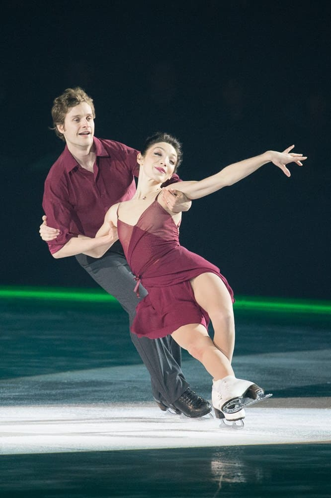 Meryl Davis & Charlie White at Art On Ice Davos 2017