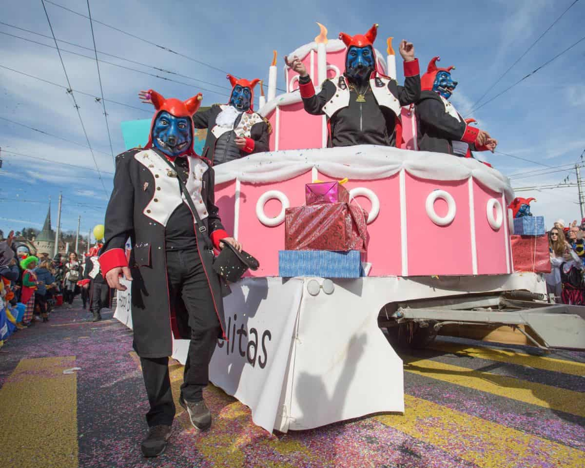 Crazy Carnival at Lucerne Fasnacht