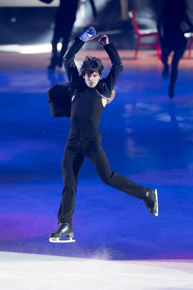 Stephane Lambiel Art On Ice Davos 2017