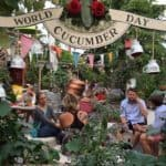 World Cucumber Day at Frau Gerolds with Hendricks