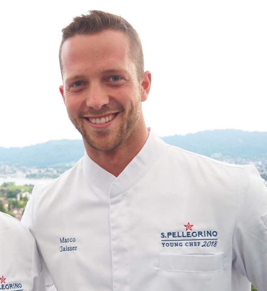 Chef Marco Gaisser San pellegrino contest