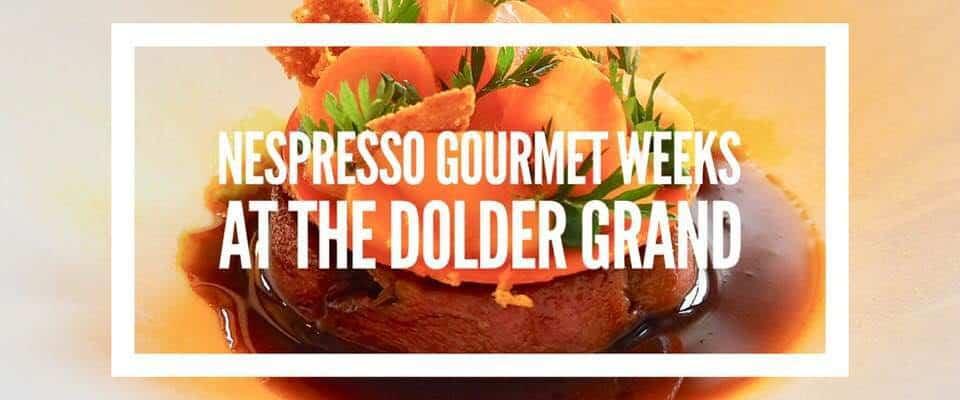 Nespresso Gourmet Weeks at the Dolder with Heiko Nieder