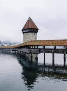 Kapelle Bridge Lucerne Switzerland