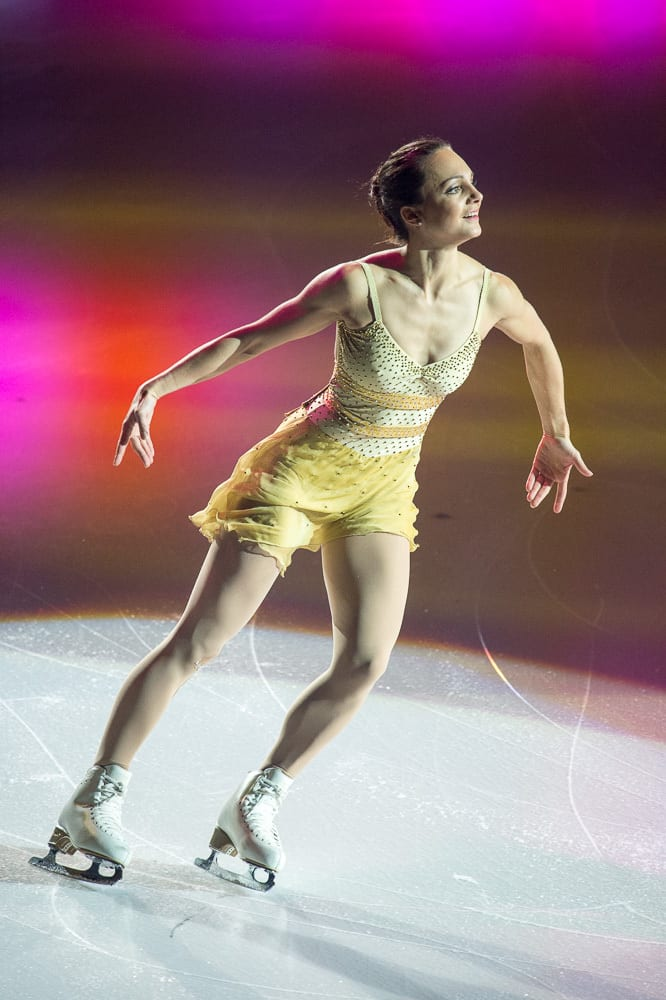 Sarah Meier at Art ON Ice n Davos