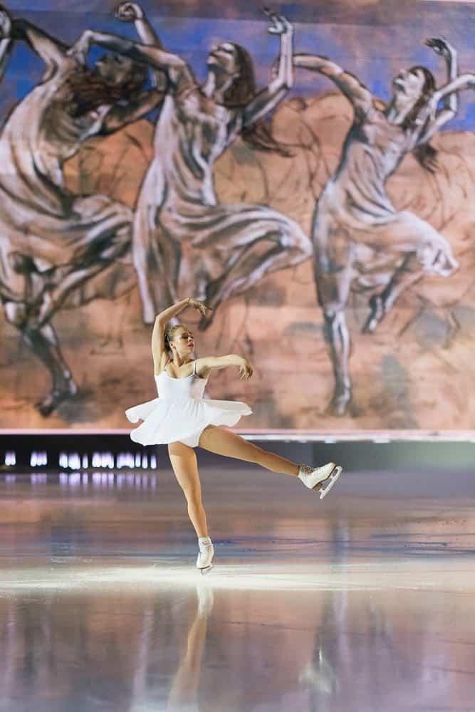 Anastasia Gubanova at Art On Ice 2018