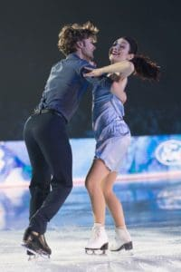 Meryl Davis and Charlie White at Art On Ice Zurich 2018
