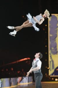 Aljona Savchenko and Bruno Massot art On Ice zurich 2018