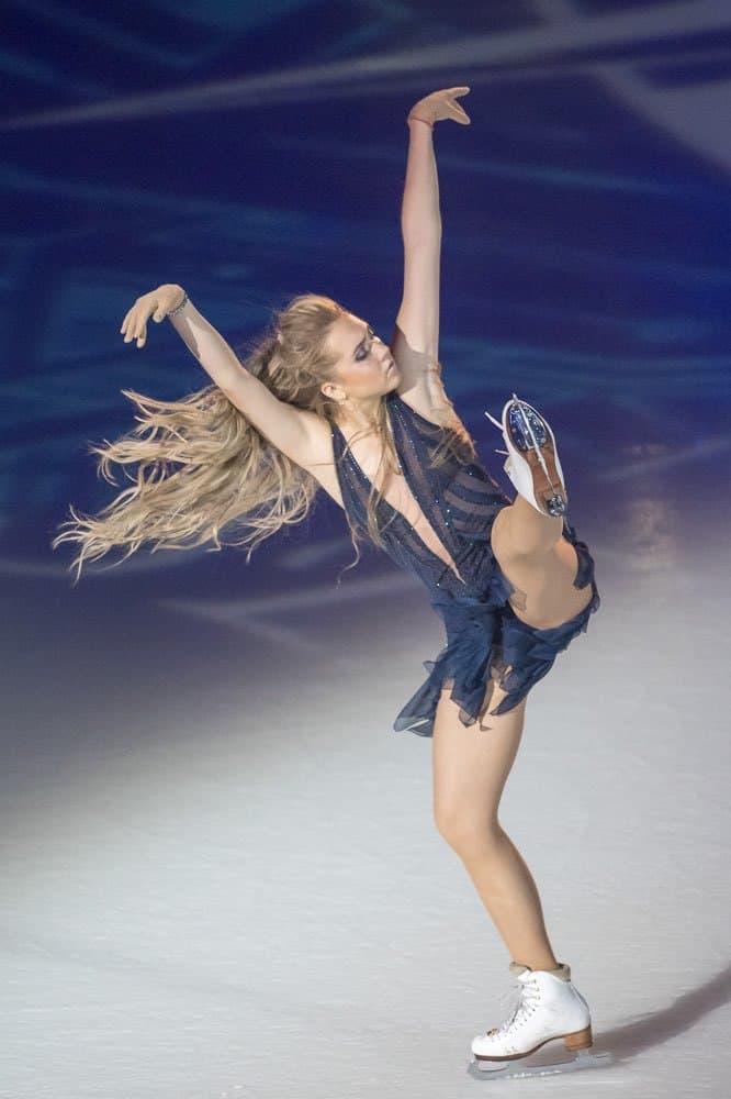 Elena Radionova at Art On Ice Zurich