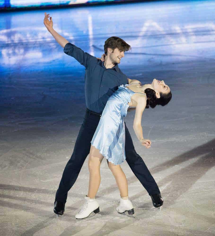 Meryl Davis and Charlie White at Art On Ice Zurich 2018