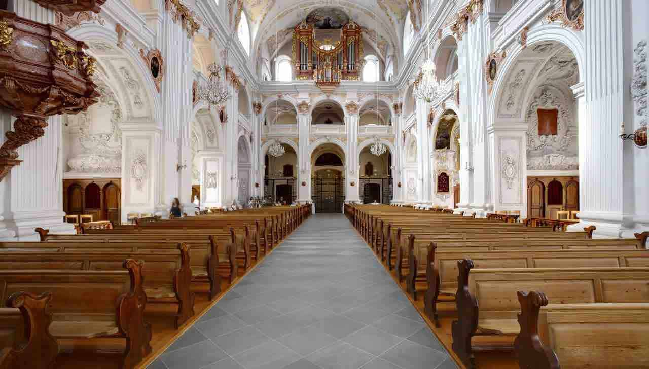 Jesuit Church Lucerne Photo credit Beat Brechbühl