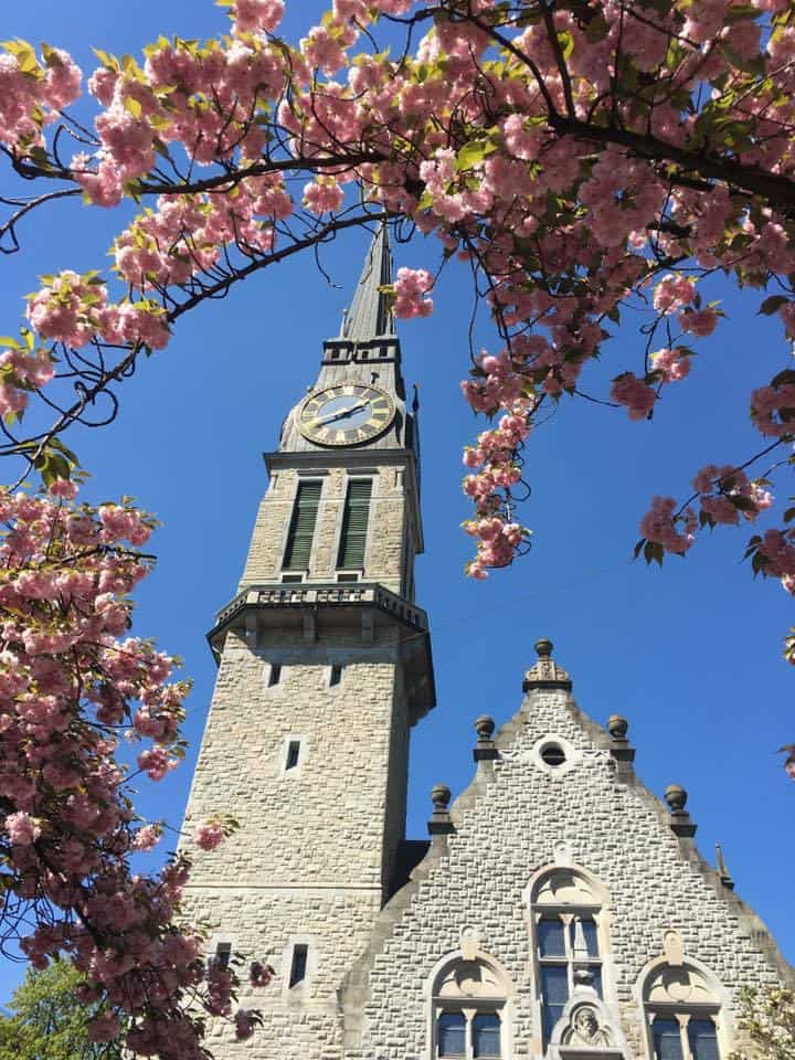 Photos of Zurich in the Spring
