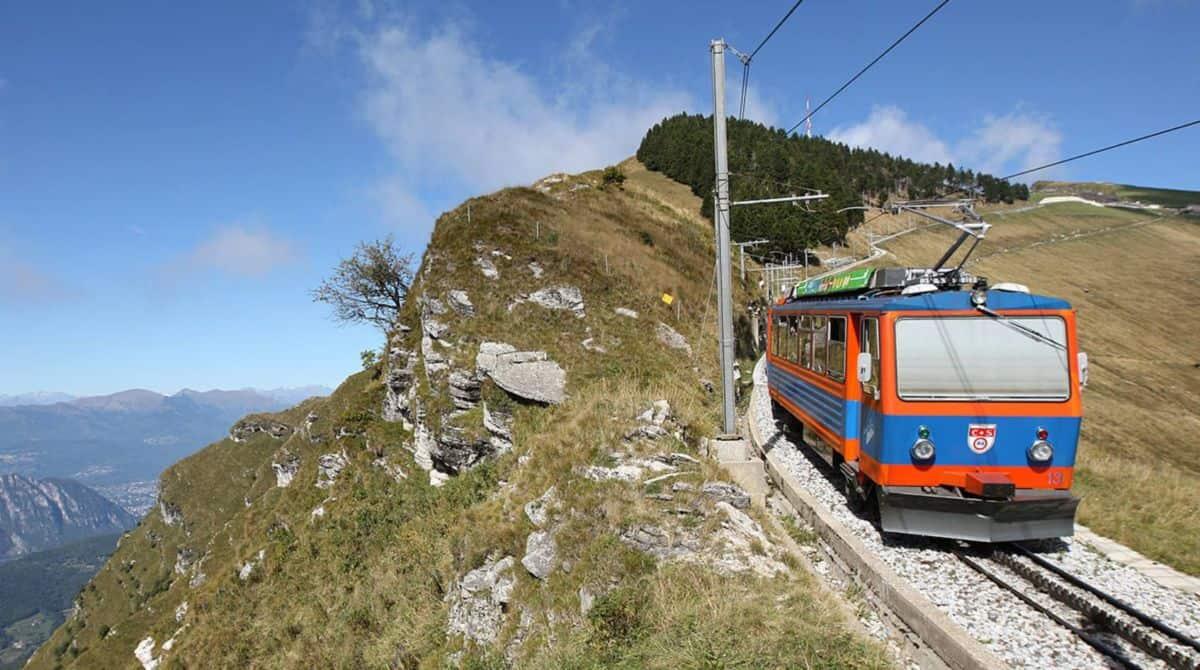 Monte Generoso Cogwheel Railway and Fiore di Pietra