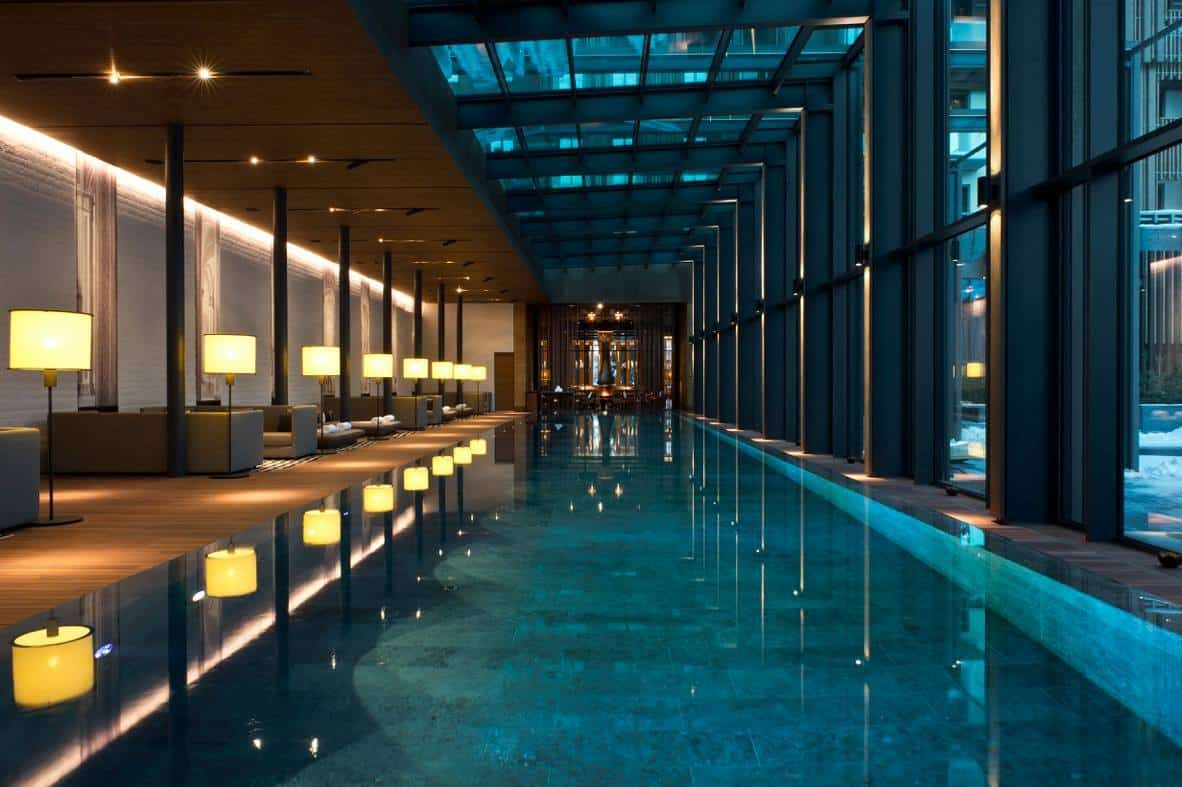 Luxury Slimming at the Chedi Andermatt