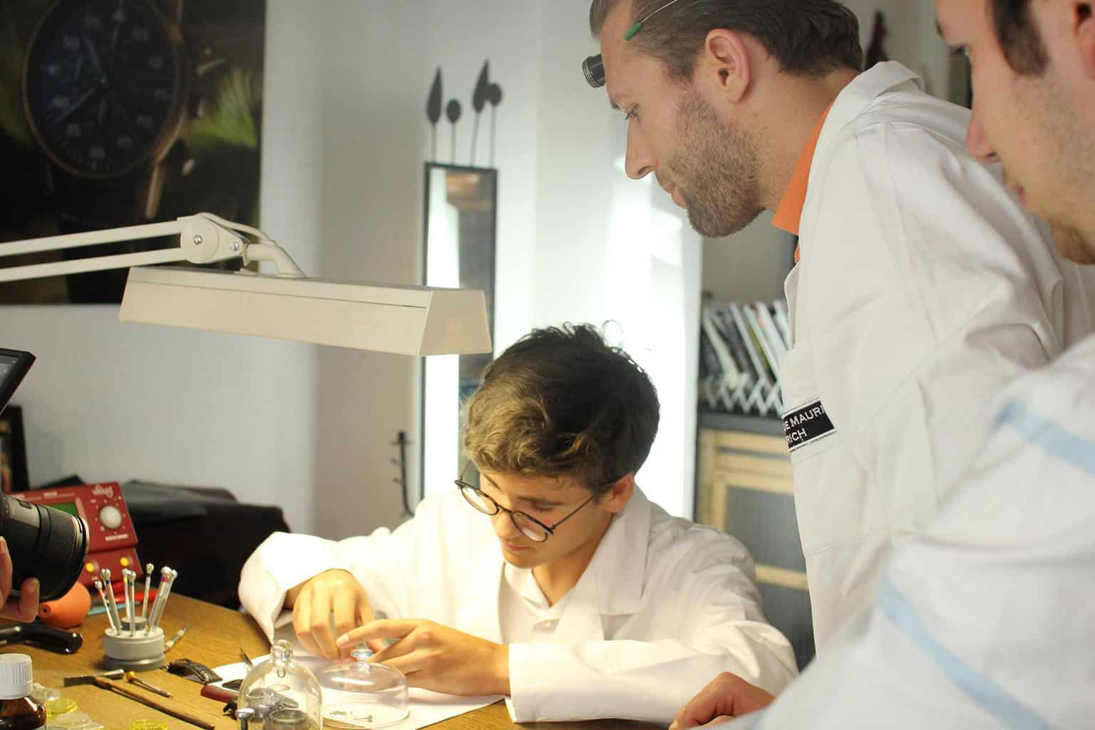 Watchmaking Workshops at Maurice de Mauriac Zurich
