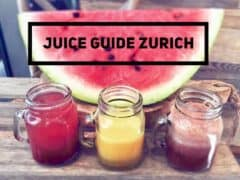 Juice Guide Zurich –  Where to Find the Best Juices