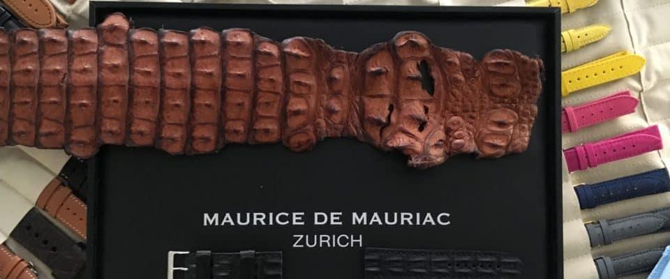 Watch Making in Zurich with Maurice de Mauriac