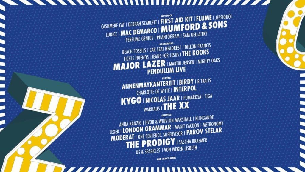 Zurich Openair Music Festival 2017