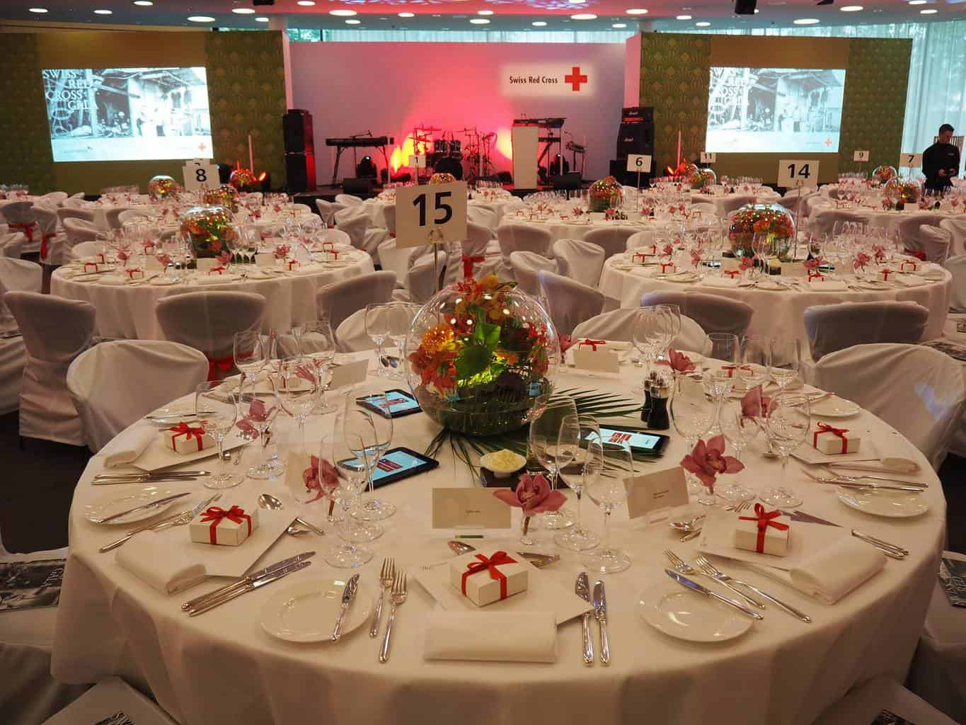 Hotel Dolder Grand Swiss Red Cross Gala reception