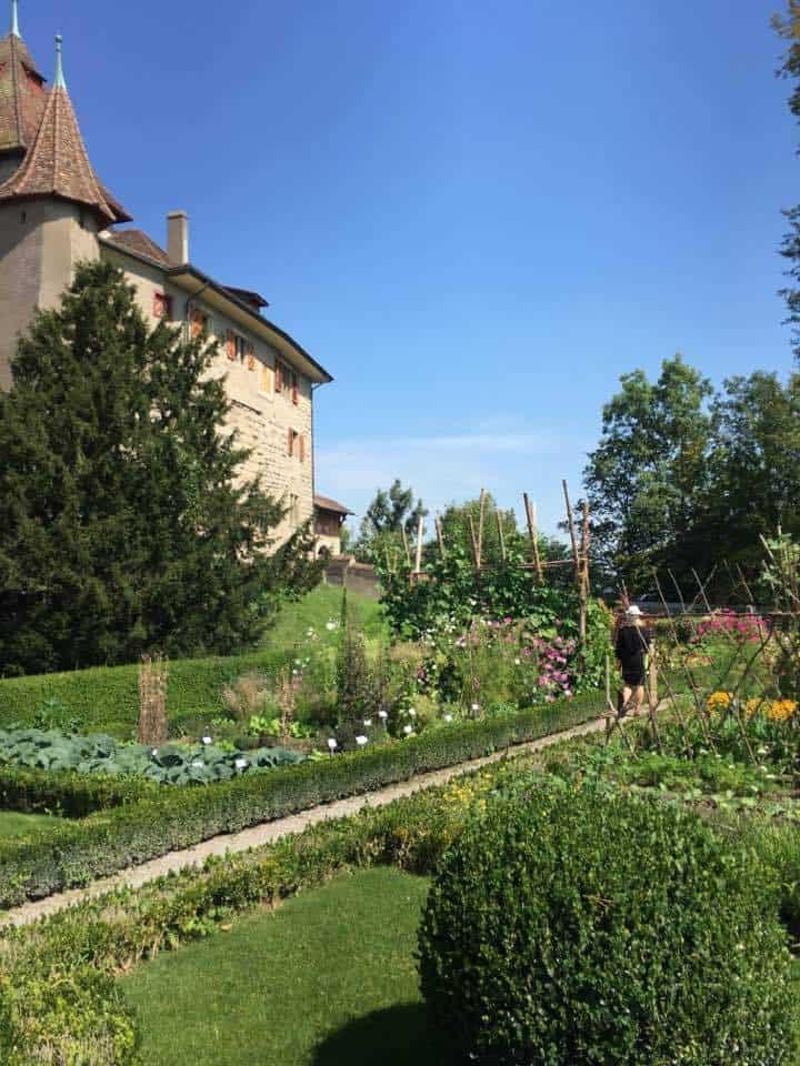 The Award Winning Kyburg Castle Near Winterthur