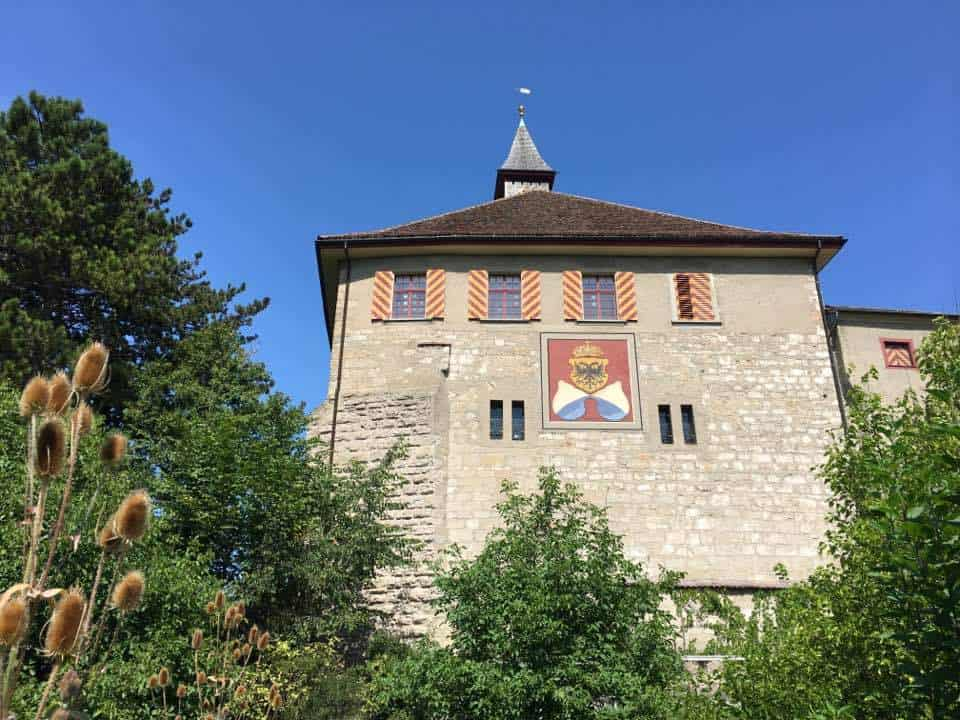 The Award Winning Kyburg Castle Near Winterthur