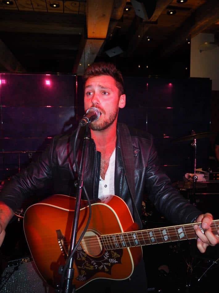 Singer Bastian Baker at Widder Hotel
