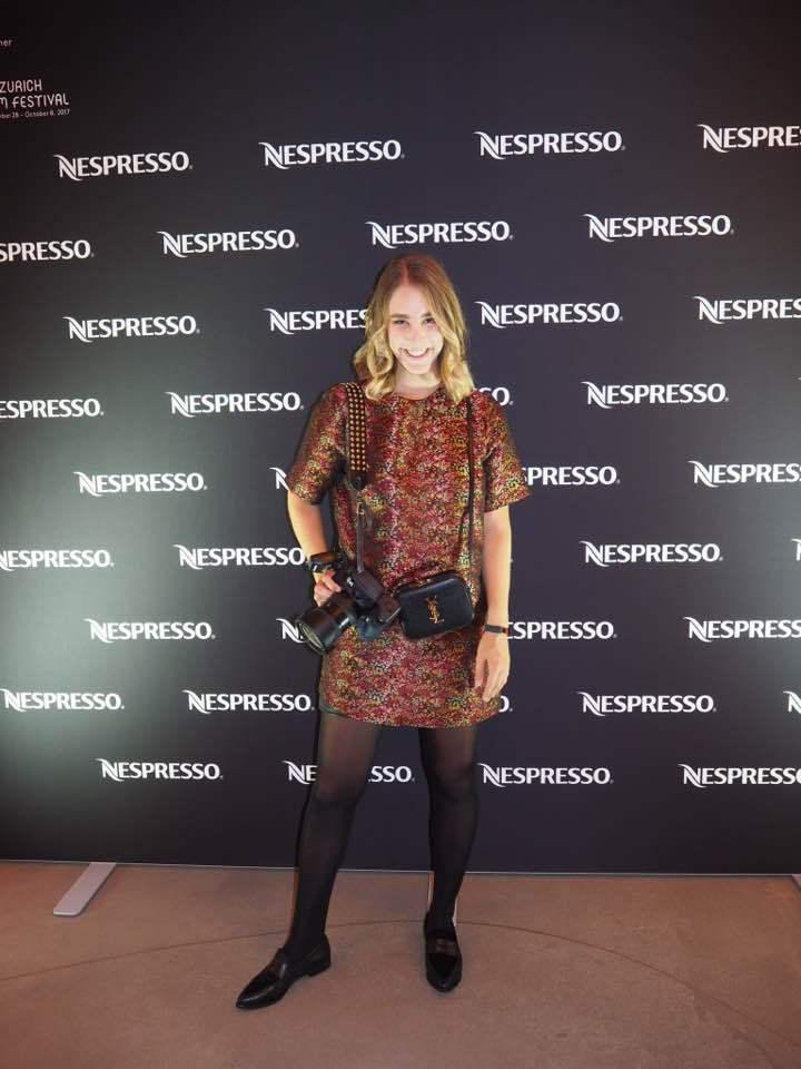 Andrea Monica Hug with Nespresso at ZFF2017