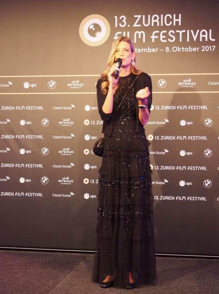 Nadja Schildknecht at Nespresso at ZFF2017