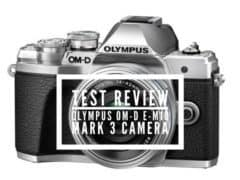 Test Review Olympus OM-D E-M10 Mark lll Camera