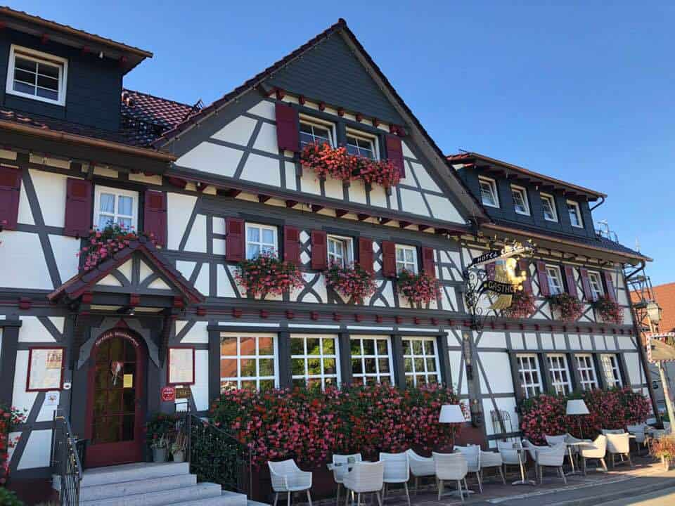 Hotel Engel Sasbachwalden in the Schwarzwald Germany